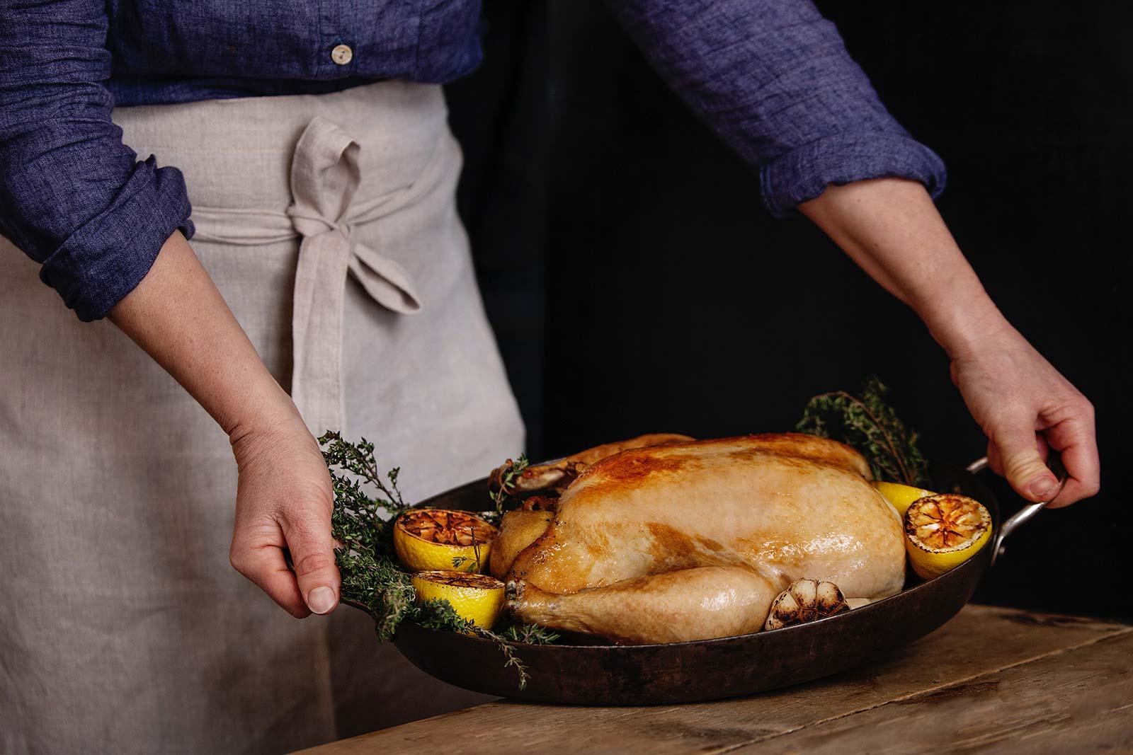Økologisk kylling, Hovelsrud Gård